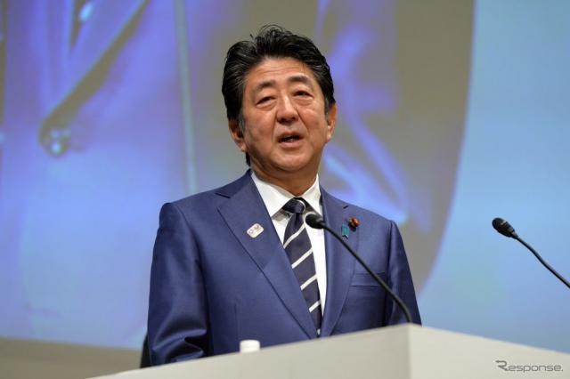 安倍首相 (c) Getty Images