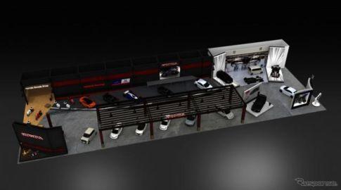 ホンダ、NSX 改良型や N-VAN カスタマイズモデルを出展へ…東京オートサロン2019