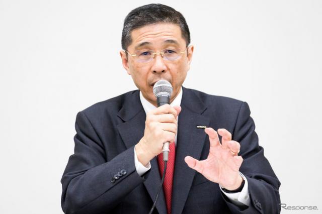 日産の西川社長(12月17日) (c) Getty Images