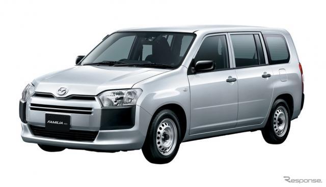 マツダ ファミリアバンDX(2WD車)