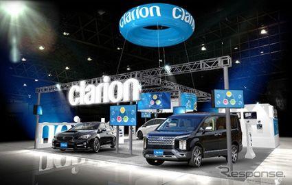 クラリオン、デモカー4台でスマートコックピットを紹介予定…東京オートサロン2019
