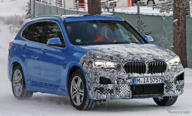 BMW X1 改良新型スクープ写真《APOLLO NEWS SERVICE》