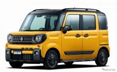 スズキ スペーシアギア 発売、SUVデザインの軽ハイトワゴン 161万4600円より