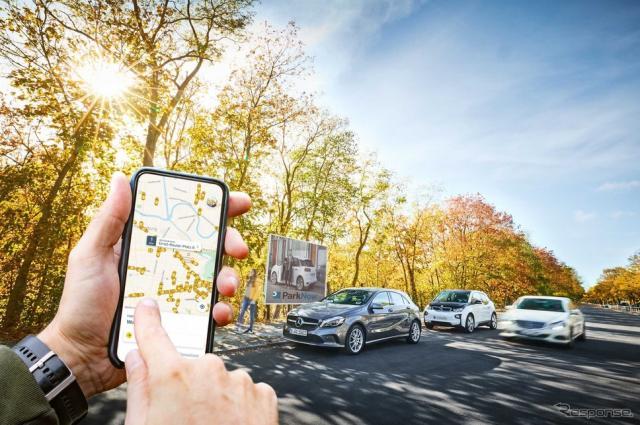 BMWグループとダイムラーのモビリティサービスのイメージ