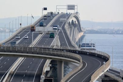 「AI渋滞予知」アクアライン通過所要時間を時間帯別に---NEXCO東日本とNTTドコモ