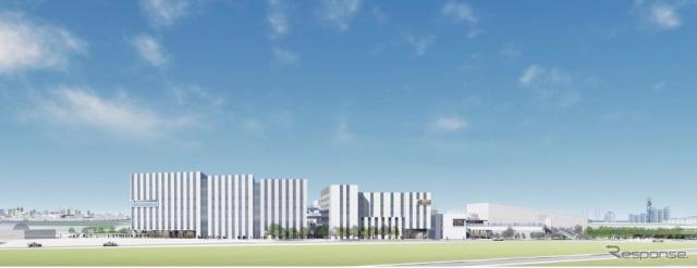 羽田空港跡地第1ゾーン整備事業・第一期事業のイメージ