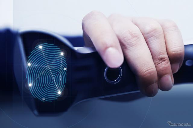 ヒュンダイの指紋認証システム