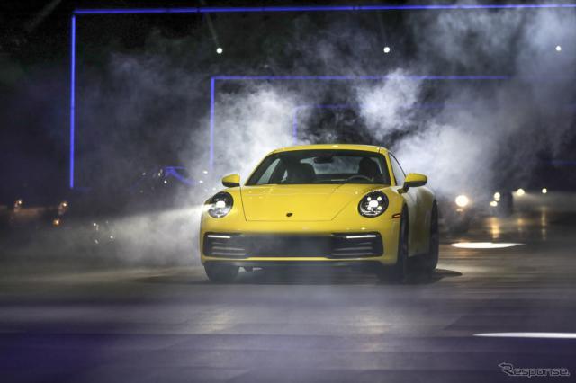 ポルシェ 911 新型 ワールドプレミアイベント《画像 ポルシェ》