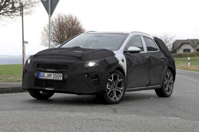 キアの欧州主力モデルにSUV、「シードSUV」は3月登場か…ファミリー第4弾