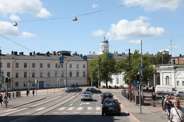 ヘルシンキ市内 (c) Getty Images
