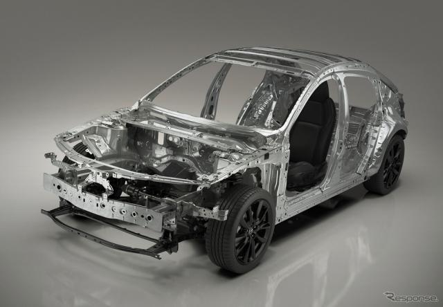 新型 Mazda 3 に採用されるプラットフォーム「SKYACTIV ビークルアーキテクチャー」《画像 マツダ》