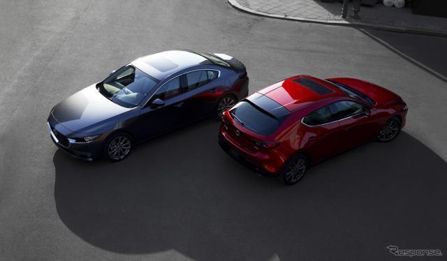 新型 Mazda 3(北米仕様)《画像 マツダ》