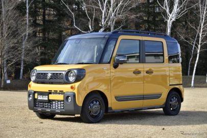 """スズキ スペーシアギア…""""SUVな軽ハイトワゴン""""の提案[詳細画像]"""