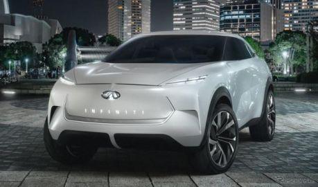 インフィニティが電動SUV、QXインスピレーション 提示…デトロイトモーターショー2019で発表へ