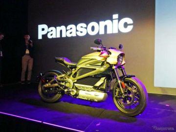 パナソニック、ハーレーが市販する電動バイクのコネクテッドサービスを初公開…CES 2019