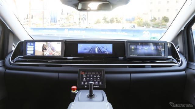 ZFの自動運転のロボットタクシー