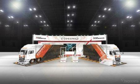 日野、メカニックデザイナーとコラボしたカスタマイズトラック出展へ…東京オートサロン2019