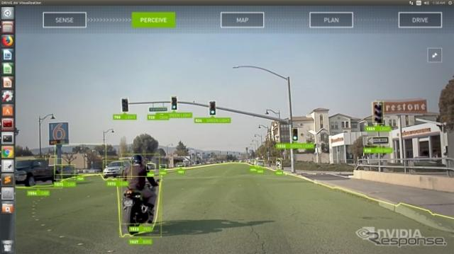エヌビディアのレベル2+の自動運転システム、「NVIDIA DRIVE AutoPilot」