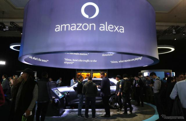 アマゾン(CES 2019) (c) Getty Images