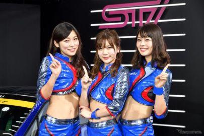 新コスチュームで登場、スバルレースクイーン「BREEZE」…東京オートサロン2019