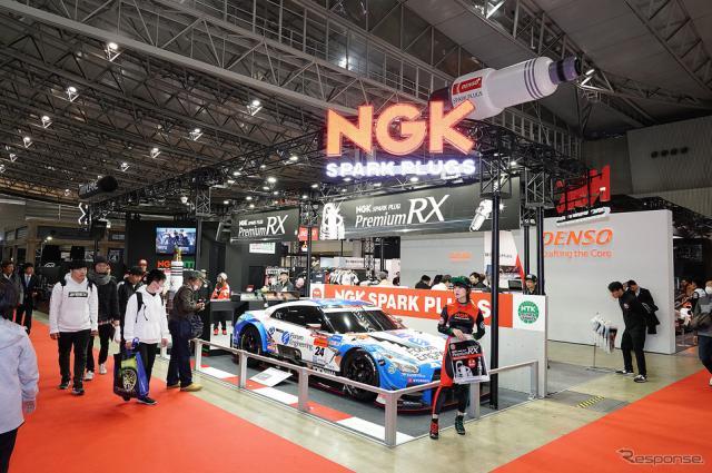 NGKブース(東京オートサロン2019)《撮影 愛甲武司》