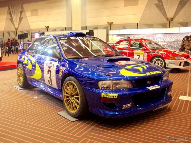 スバル・インプレッサ555(GC8)WRC98、1998年サンレモ仕様(東京オートサロン2019)《撮影 高木啓》