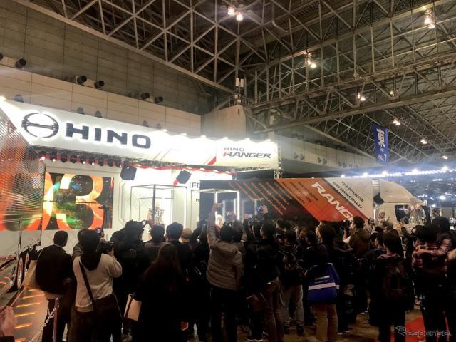 閉会間際の東京オートサロン2019(1月13日)《撮影 後藤竜甫》