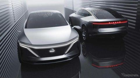 日産が次世代EVスポーツセダン『IMs』、ツインモーターで航続610km…デトロイトモーターショー2019