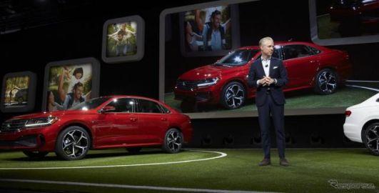 VW パサート が アルテオン 風の表情に…デトロイトモーターショー2019