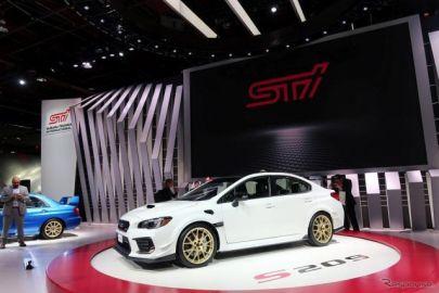 スバル S209「2.5リットルエンジンは悩んだ末の選択」STI平川社長……デトロイトモーターショー2019