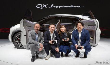 インフィニティの電動SUVコンセプト、3つのデザイン賞を受賞…デトロイトモーターショー2019