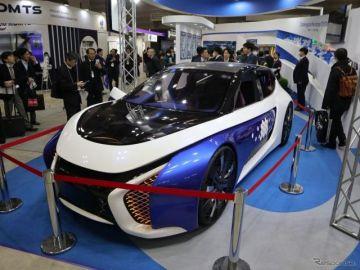 新素材をフル活用した未来カーを東洋紡が提案…オートモーティブワールド2019