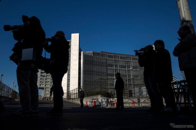 東京拘置所(1月11日) (c) Getty Images