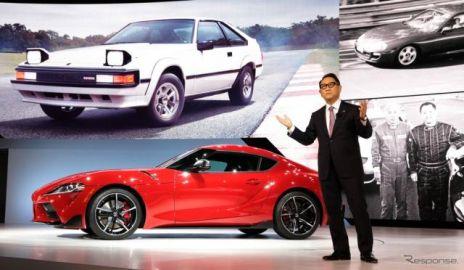 トヨタ スープラ 新型に続くスポーツカーは? 豊田社長が言及…デトロイトモーターショー2019