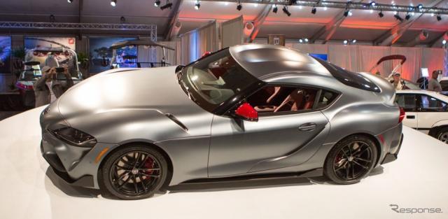 トヨタ・スープラ 新型の量産第一号車