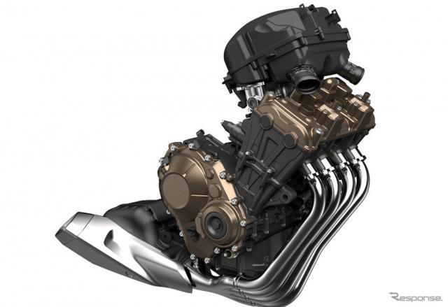 ホンダ CBR650R パワーユニット(イメージCG)