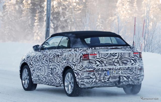 VW  T-ROC カブリオレ スクープ写真《APOLLO NEWS SERVICE》