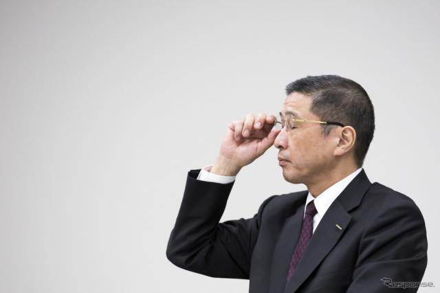 西川社長(1月24日) (c) Getty Images