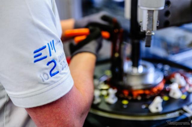 ボッシュとダイムラーが合弁で設立した電動車向けモーター生産のEMモーチブ社の工場