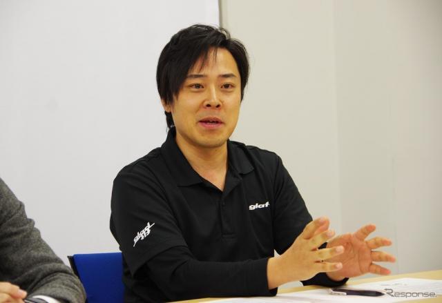 glafit(グラフィット)鳴海禎造 代表取締役社長《撮影 宮崎壮人》