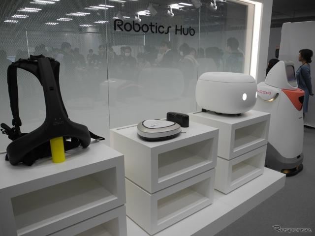 パナソニックの「Robotics Hub」《撮影 山田清志》