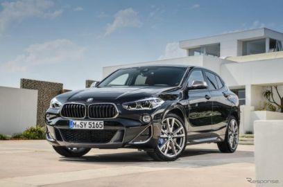 BMW X2に、Mパフォーマンスモデルの「M35i」とクリーンディーゼル車「18d」を追加
