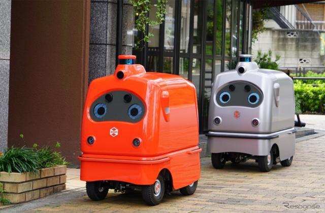 宅配ロボット CarriRo Deli