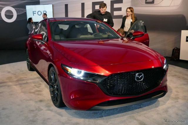 ボーズサウンドを搭載した新型『Mazda3』