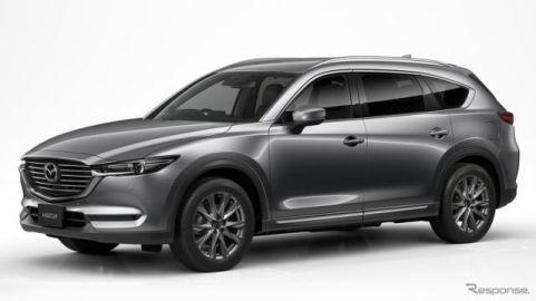 マツダ CX-8、国内3列シートSUV販売台数トップを獲得 2018年