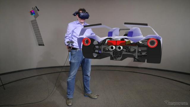 フォードモーター、自動車デザインに3DのVRツール導入へ…空間に線を描く