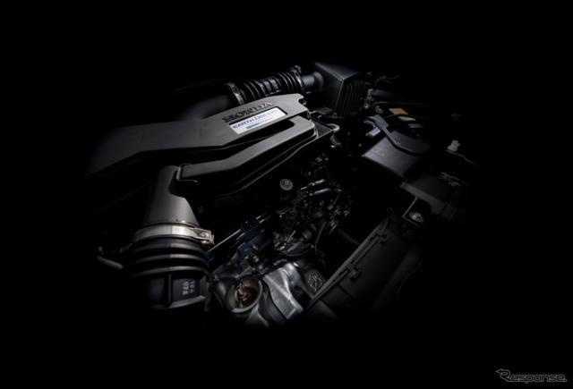 1.5リットルVTECターボエンジンイメージ