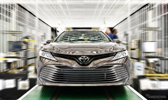 トヨタの米ケンタッキー工場で生産されているカムリ(参考画像)