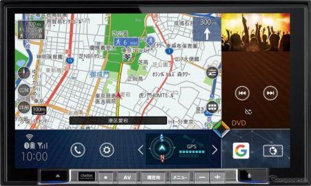 クラリオン、デモカーでQuad Viewナビと車載用FDSを体感…大阪オートメッセ2019出品予定