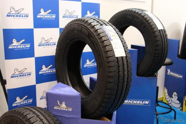 ミシュランのキャンピングカー専用タイヤ「 アジリス キャンピング」《撮影 中尾真二》
